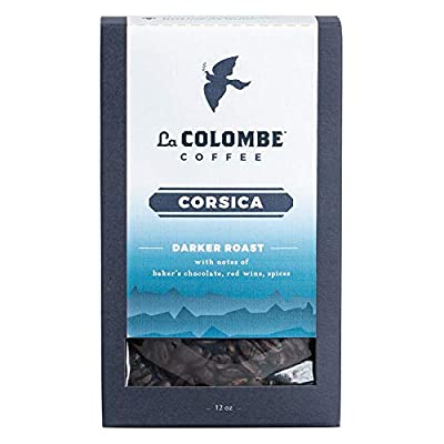 La Colombe Whole Bean Coffee - - Full Bodied Dark Roast - Specialty Roasted Coffee, Corsica, 12 oz (Pack of 1)