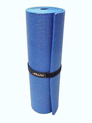 Joluvi COLCHONETA Esterilla Almohadilla Gimnasia Yoga Pilates Aerobic Camping Azul Gris Pro-BICO