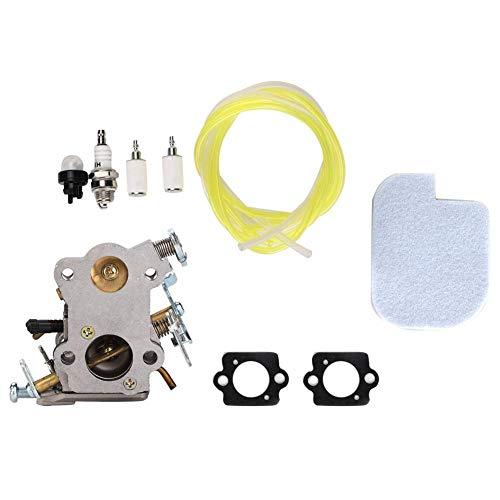 Mumusuki carburateur luchtfilter brandstofleiding kit geschikt voor Poulan 545040701 PP4018 PP4218 P3314 PP3516 grasmaaier tune up kits accessoires