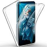 AROYI Samsung Galaxy M51 Hülle 360 Grad Handyhülle, Silikon Crystal Full Schutz Cover [Separat Hart PC Zurück + Weich TPU Vorderseite] Vorne & Hinten Schutzhülle für Samsung M51