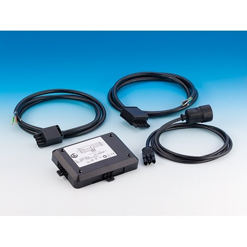 Power-splitter set - aansluiting van kookplaat, oven of vaatwasser incl. 3 kabels met elk 5 m kabellengte, powersplitter, verdeler