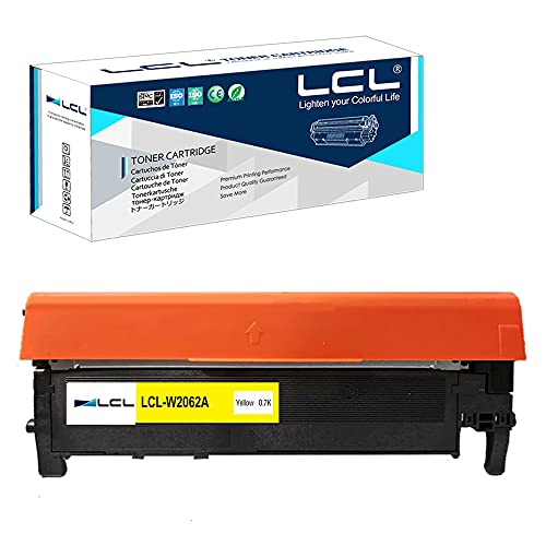 LCL Compatible Toner Cartridge Replacement for HP 116A W2062A Color Laserjet Pro 150a 150nw 178nw 178nwg 179fnw 179fwg(1-Pack Yellow