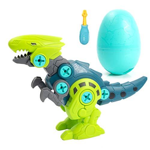 Happara Dinosaurier Montage Spielzeug, Stück Dino Spielzeug mit Schrauben Raubvogel Dinosaurier Ei DIY Gebäude Spielzeug Geschenke für Kinder Jungen Mädchen (Raubvogel)