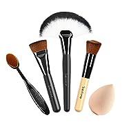 SAILINE NEW Foundation Cream Contour Powder Concealer Foundation Cosmetics Tool Makeup Brushes Tooth...