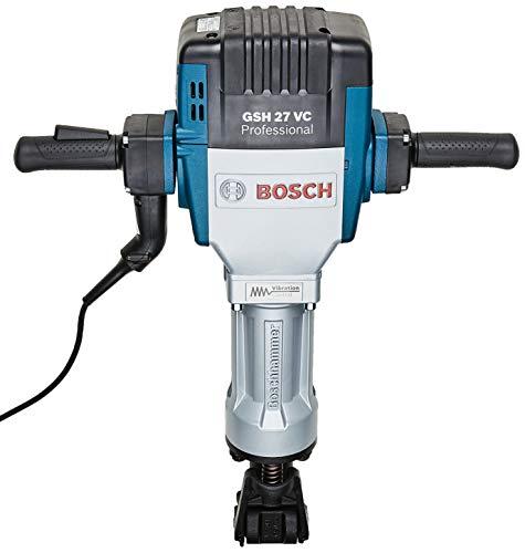 Bosch 061130A0E0-000, Martelo Perfurador Demolidor GSH 27 VC 220V, Azul