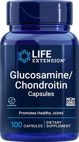 Glucosamine/Chondroitin Capsules (100 CAPSULES) Life Extension