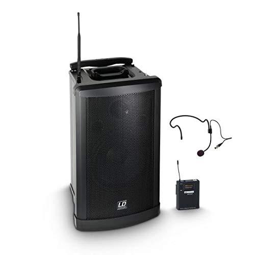 LD Systems Roadman 102 HS B 6 - Mobiler PA Lautsprecher mit Headset
