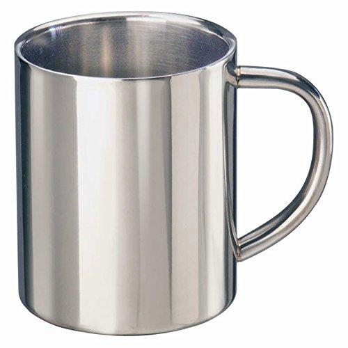 Termo (0,4l, acero inoxidable, taza vaso)