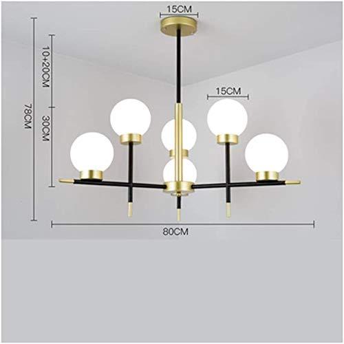 Hanglampen - klassieke vintage kristallen kaarslamp voor elegante decoratie kroonluchter verlichting hanglamp plafondlamp productie (kleur: B)