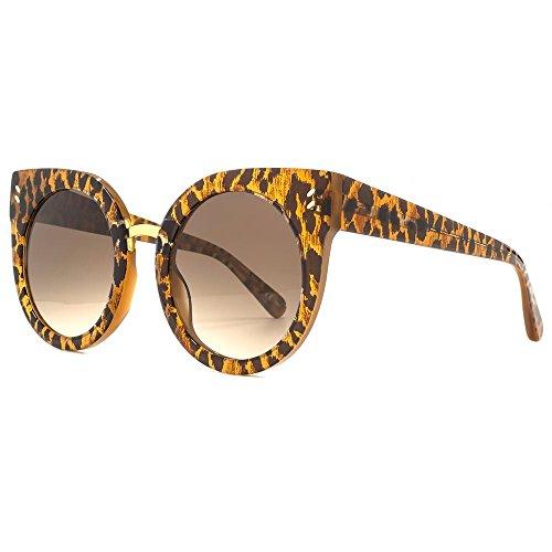 Stella McCartney SC0036S-006 Gafas, marron, 51/23/140 para Mujer