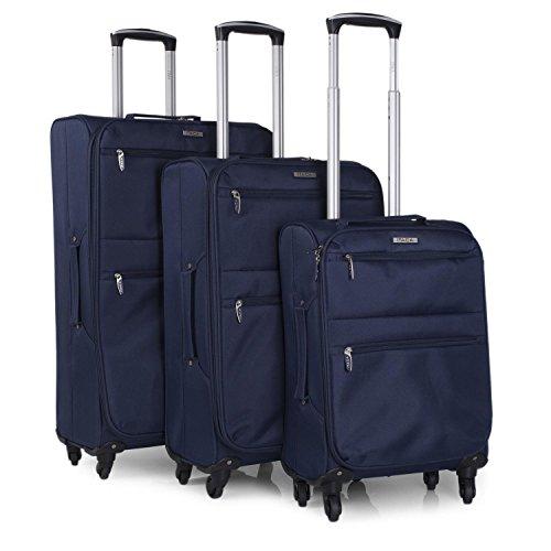 ITACA Reisa kofferset, 3-delige kofferset met harde schalen