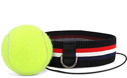 Kellago Profi Fight-Ball-Reflex mit Aufbewahrungsbeutel Kampfball mit Stirnband für Boxtraining Trainingsgerät für Leistungssteigerung im Boxen! Reflex-Ball/Pinching-Ball/Speedball