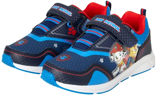Nickelodeon Boys' Paw Patrol Sneakers - Light Up Running Shoes (Toddler/Little Kid), Size 7 Toddler,...