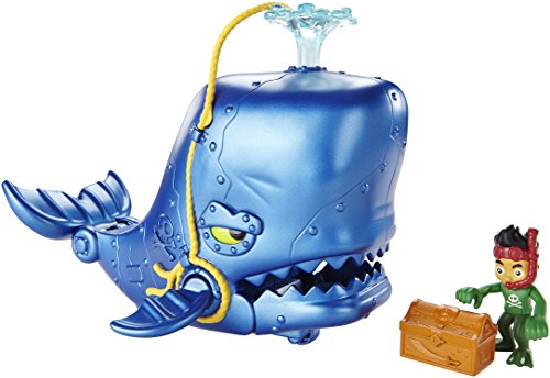 Jake et les pirates Fisher Price Cgj89 - Figurine Animation - Jake Et La Baleine