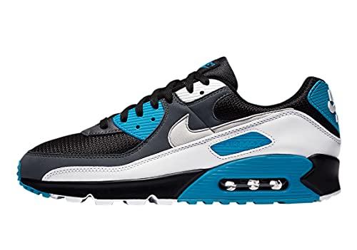 Nike Mens Air Max 90 Running Shoe, Adult, Black/Neutral Grey-Dark Grey, 10 M US