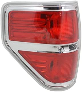 Tail Light compatible with Ford F-150 09-14 Lens and Housing Styleside Left Side