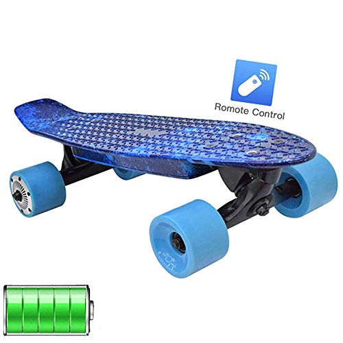 LXY Motorized Cruise Longboard, Electric Caster Board, Electric Longboard Skateboard, komplettes elektrisches Skateboard für Anfänger und Urban Pendler (Farbe: 2)