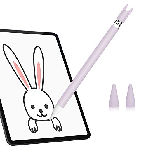 Hydream Funda de Silicona para Apple Pencil 1ª Generación, Funda Ultra Delgada...