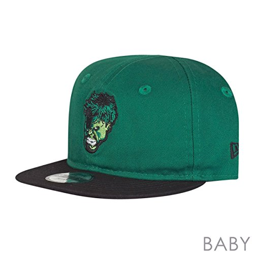 New Era Kinder 9FIFTY Essential Hero Hulk Cap, grün, One Size