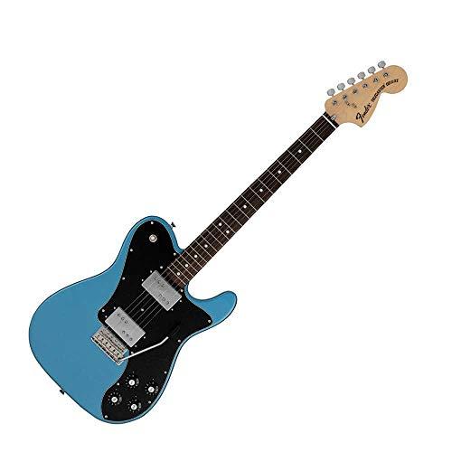 Fender MIJ 70s Telecaster Deluxe Edición Limitada Con Tremolo Lago Placid Azul...
