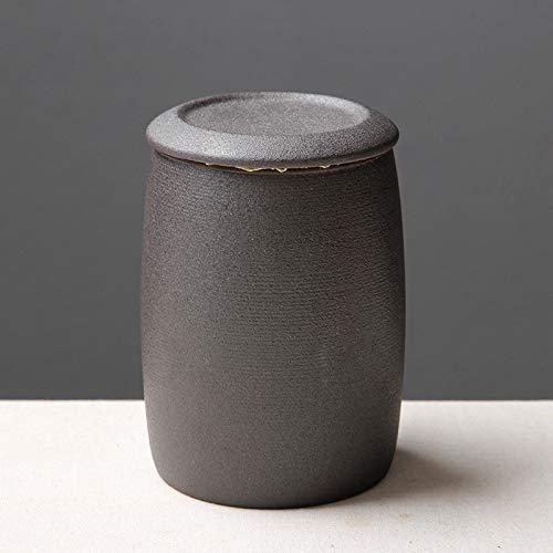liangh Urnes Bio Erwachsene Einäscherung Urns Für Asche Biologisch Abbaubar Urne, Weiß Keramik 10x 10x 11cm,D