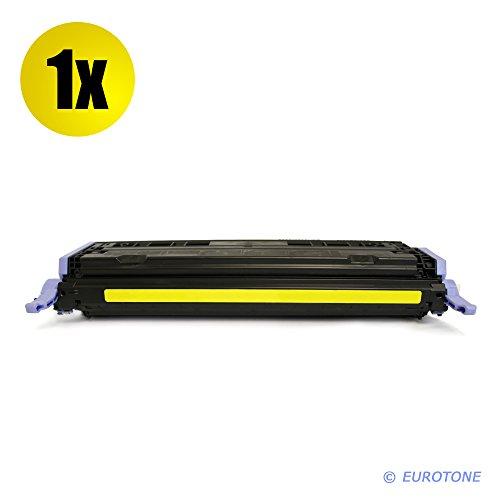 Kompatibler Eurotone Drucker Toner ersetzt Q6002A Yellow remanufactured für HP Color Laserjet 1600 2600 2605 + cm 1015 1017 – Alternativkompatibel