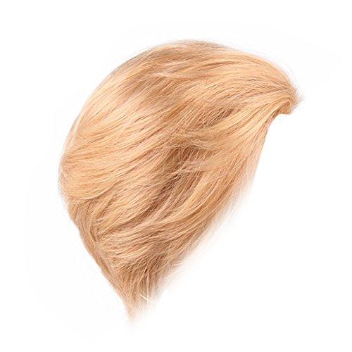MERIGLARE Perruque De Cheveux Humains En Couches Naturelle Soyeuse Populaire