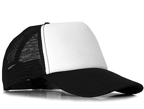 Bastart Mesh Casquette Noir/blanc