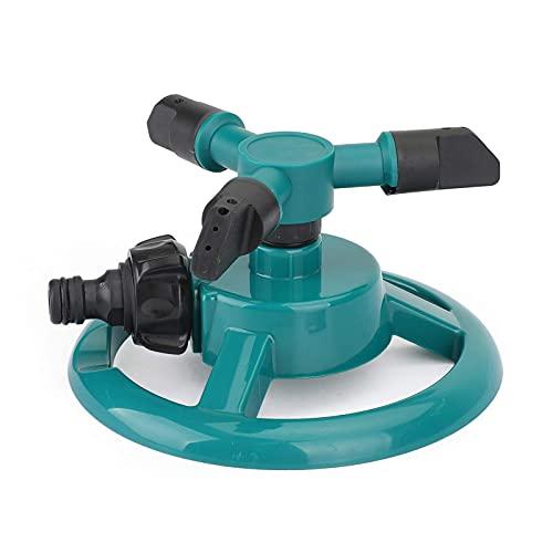Bruce & Shark Gardena Sprinkler 360° - Irrigatore per prato, rotante, impulso per prato, irrigazione giardino