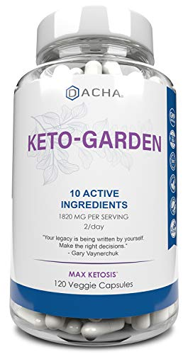 Ultra Fast Keto Boost - 1820 mg KetoGarden Pure Pills, 6X Extreme Rapid Ketosis, Manage Cravings Super Fast, Utilize Fat for Energy, Perfect Exogenous Ketones, Slim Weight Loss, Burn Xtreme