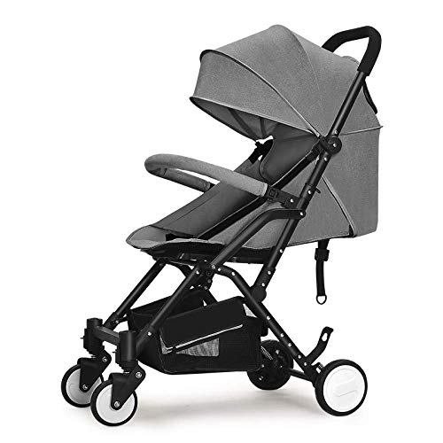Purchase LQRYJDZ Baby Carriage, Pushchairs Baby Stroller Lightweight Reclining Foldable Pushchair Su...