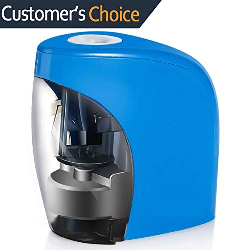 Electric Pencil Sharpener,Pencil Sharpener for No.2 Pencils and Colored Pencils,Electrical Automatic Sharpener with Auto Stop Feature