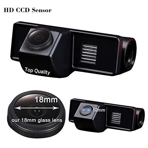 Kalakus Auto Rückfahrkamera HD CCD Rückwärtskamera Einparkhilfe in Nummernschild für Mercedes Benz Vito W639/Viano/V Class/Sprinter RV-MV/Sprinter Van