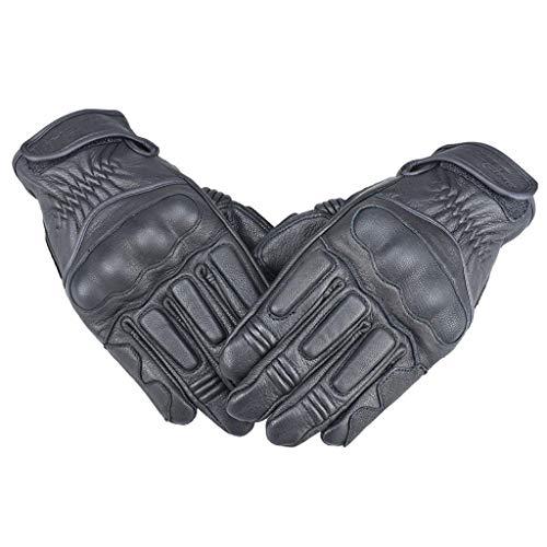 Nobranded Pantalla Táctil Full Finger Guantes Hombres Motocicleta Ciclismo - Negro, SG