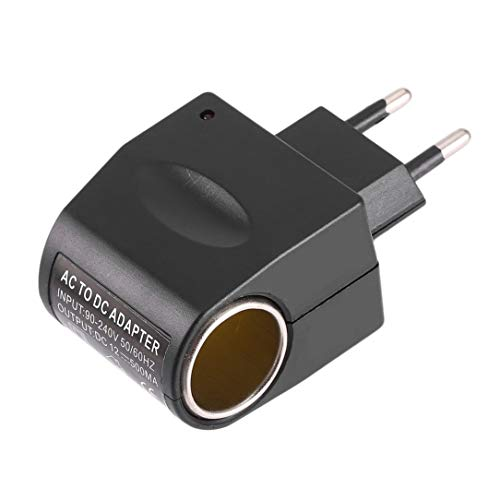 Universal de plástico + Metal 110V-240V AC 50-60 Hz a 12 V CC del Coche de energía del...
