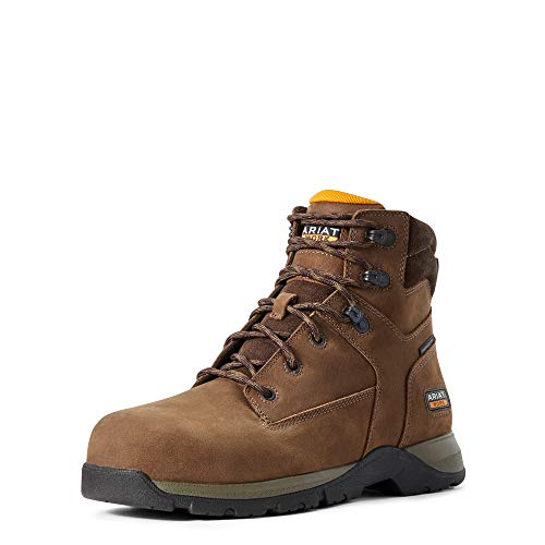 ARIAT Men's Edge LTE 6' Composite Toe Work Boot Brown