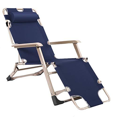 Q Store Deckchairs Chaise Longue Portable et Multifonction - Résistant à l'humidité - Fauteuil inclinable - Âge Moyen - Réglage de la Famille