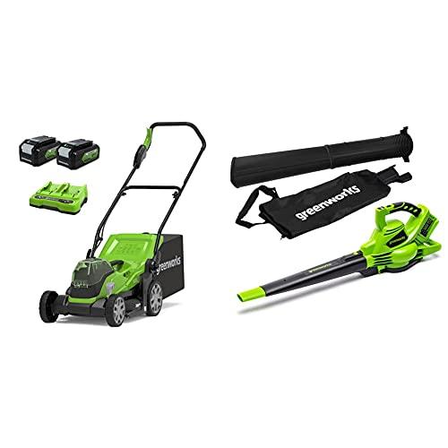 Greenworks Akku-Rasenmäher+Tools...