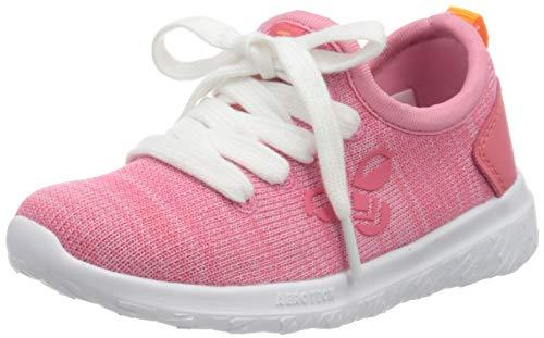 Hummel Unisex-Kinder Actus Easyfit Infant Sneaker Niedrig, Pink (Fuchsia Pink 3445), 21 EU