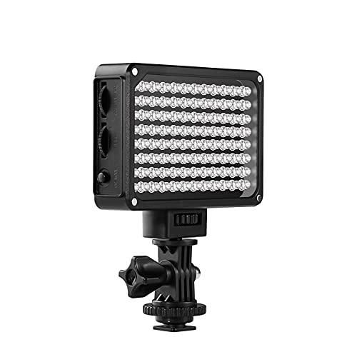 Luz LED Video GVM Regulable CRI95 Bi-Color 2000K-5600K portátil con antorcha led Video, Batería de Litio incorporada para Canon, Nikon, Sony, Otras cámaras Digitales/videocámaras DSLR
