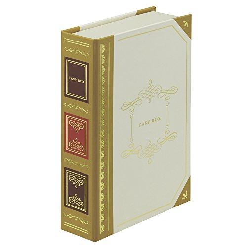 ナカバヤシ アルバム イージーボックス はがきサイズ ホワイト RBX-101-W