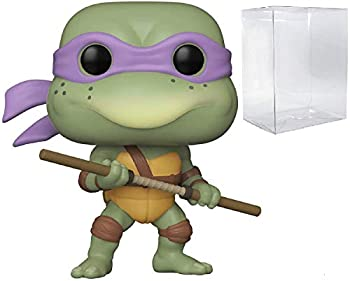 Donatello Pop #17 Retro Toys Teenage Mutant Ninja Turtles Vinyl Figure  Bundled with EcoTek Protector to Protect Display Box