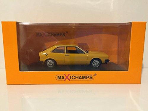 VW Scirocco, gelb, 1974, Modellauto, Fertigmodell, Maxichamps 1:43