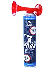 AABCOOLING Signal Gas Horn 750ml - Fanfarria de Gas Muy Fuerte, Butano, Bocina Aire Comprimido, Trompeta Bocina, Trompetas de Futbol
