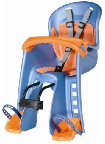 01060201 Polisport Bilby Junior Fahrrad Kindersitz Vorderradsitz Blau GS-geprüft