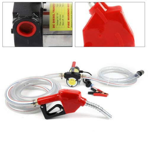 175W 12V Kit de dispensador de bomba de combustible diésel eléctrico de...