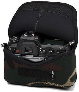 Fees free!! LensCoat BodyBag camouflage neoprene bag camera body New life protection