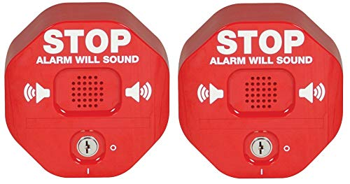 Safety Technology International, Inc. STI-6400 Exit Stopper Multifunction Door Alarm, Helps Prevent Unauthorized Exits or Entries Through Emergency Doors (Тwo Рack)