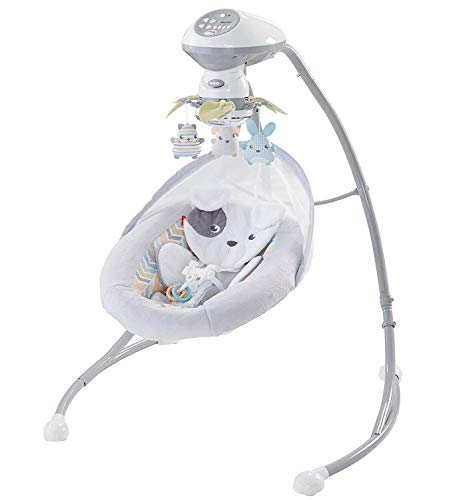 Big Save! Silla Mecedora Hamaca para Bebés Color Blanco Snugapuppy De Fisher Price Search on Amazon