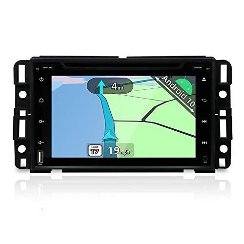 YUNTX Double DIN stéréo de Voiture, en Voiture Dash Navigation GPS avec 17,8 cm Tactile capacitif écran pour GMC Yukon/GMC Tahoe, Android 7.1 Radio de Voiture avec caméra arrière